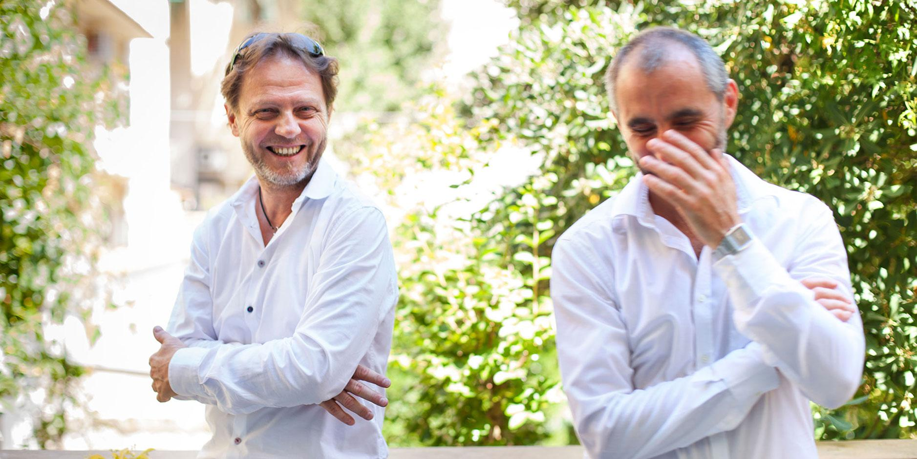 Paolo Ramponi e Marco De LA Pierre • DOTFLORENCE web agency Firenze